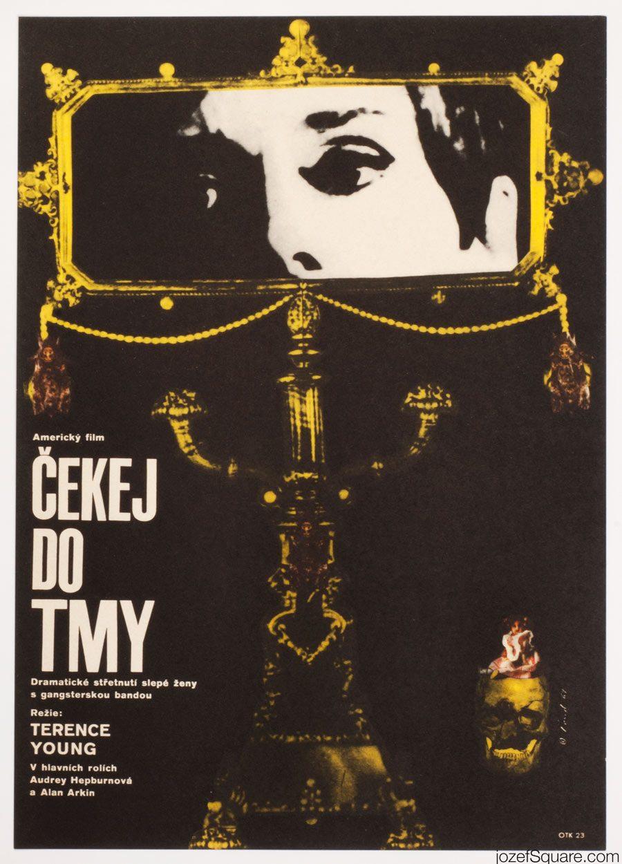 Wait Until Dark Movie Poster, Audrey Hepburn