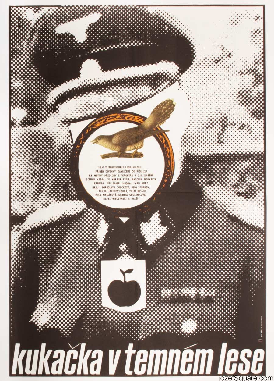 Cuckoo in a Dark Forest Movie Poster, Karel Vaca Artwork