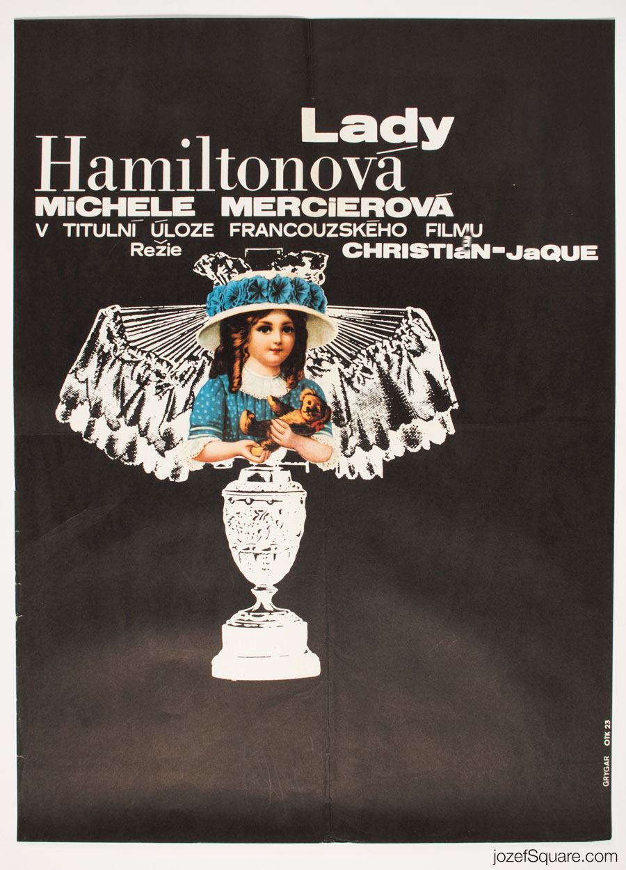 Emma Hamilton Movie Poster, 70s Romantic Poster