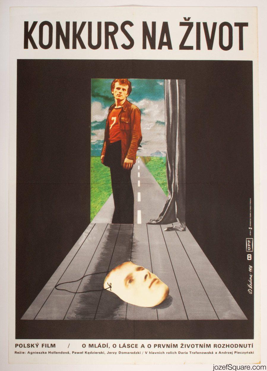 Screen Tests Movie Poster, 70s Polish Cinema