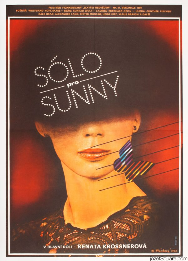 Solo Sunny Movie Poster, 80s Poster Art