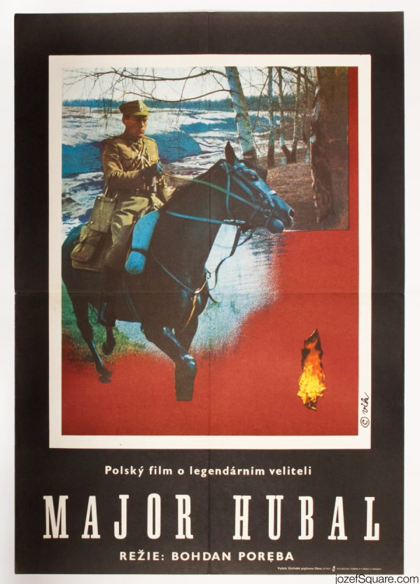 Major Hubal Movie Poster, 70s Poster Art