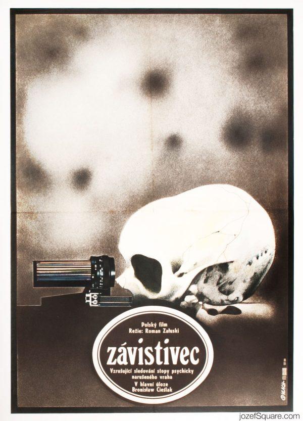 Mad Dog Movie Poster, 80s Polish Cinema