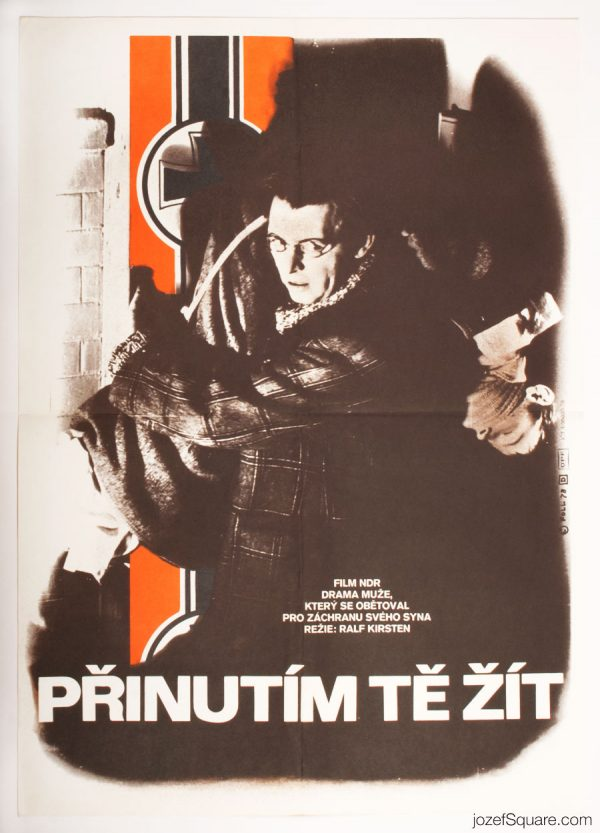 I Will Force You to Live Movie Poster, East German Cinema