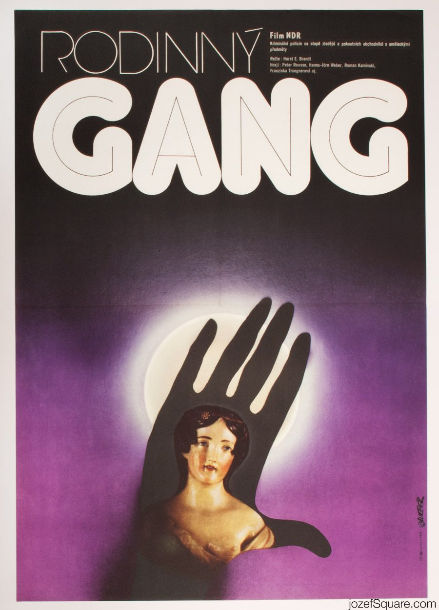 Family Gang Movie Poster, East German Cinema