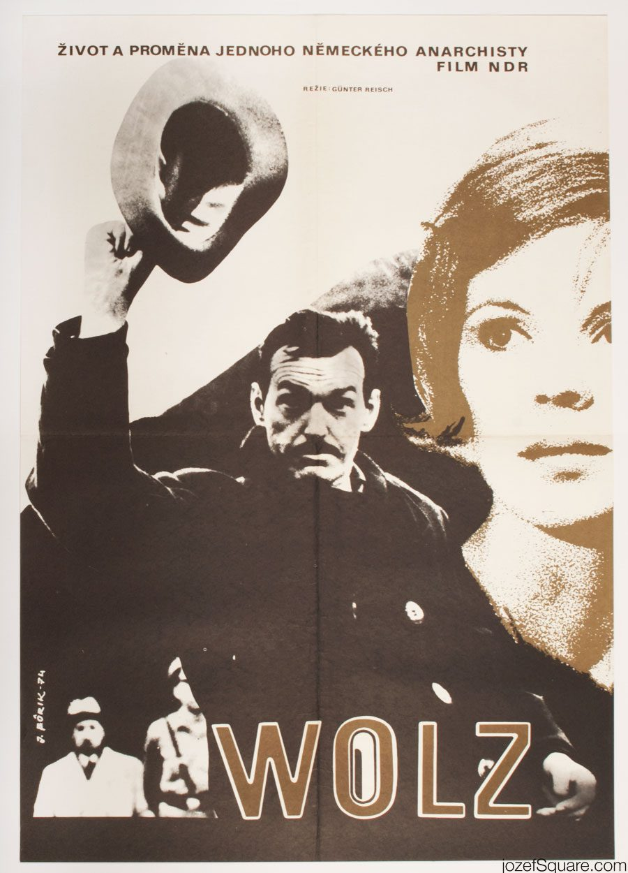 Wolz Movie Poster, East German Cinema