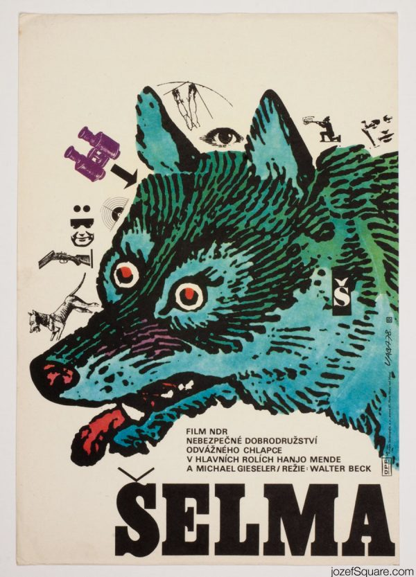 The Beast Movie Poster, East German Cinema