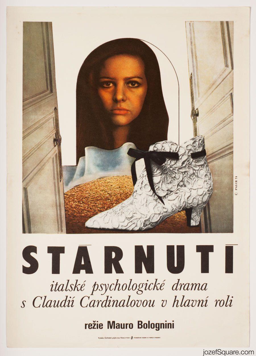 Careless Movie Poster, Claudia Cardinale, 60s Poster