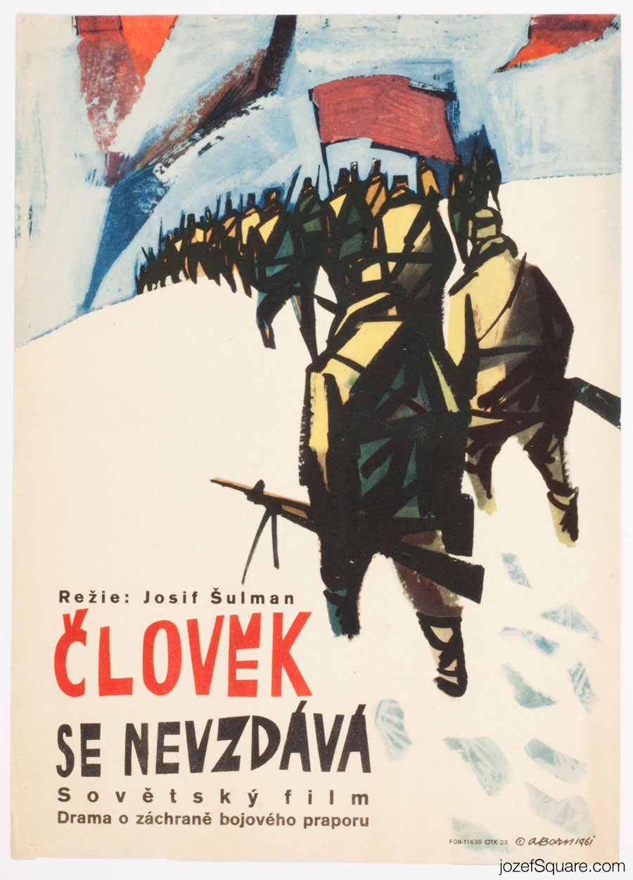 The Man Does Not Give Up Movie Poster, Adolf Born