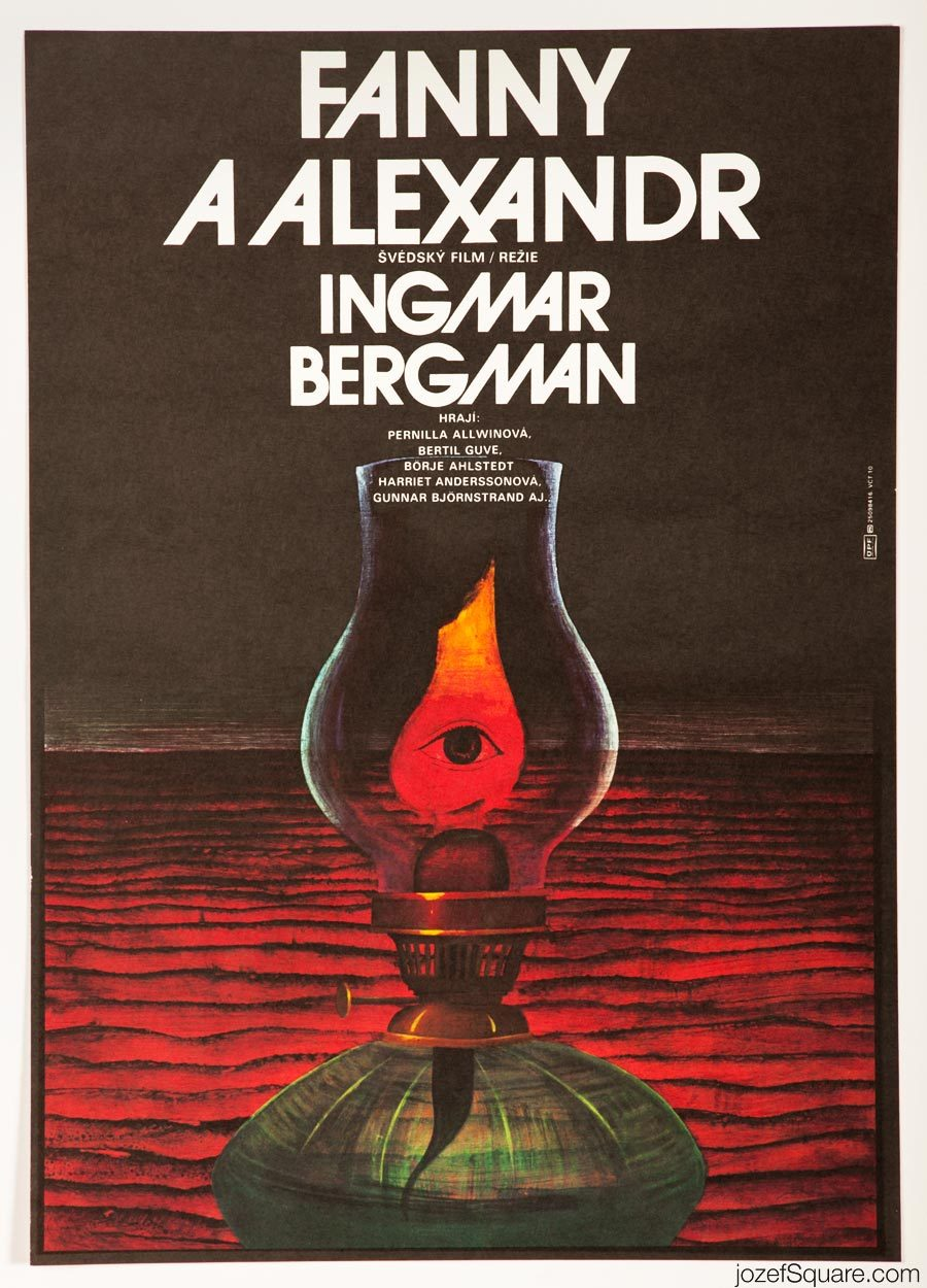 Fanny and Alexander Movie Poster, Ingmar Bergman