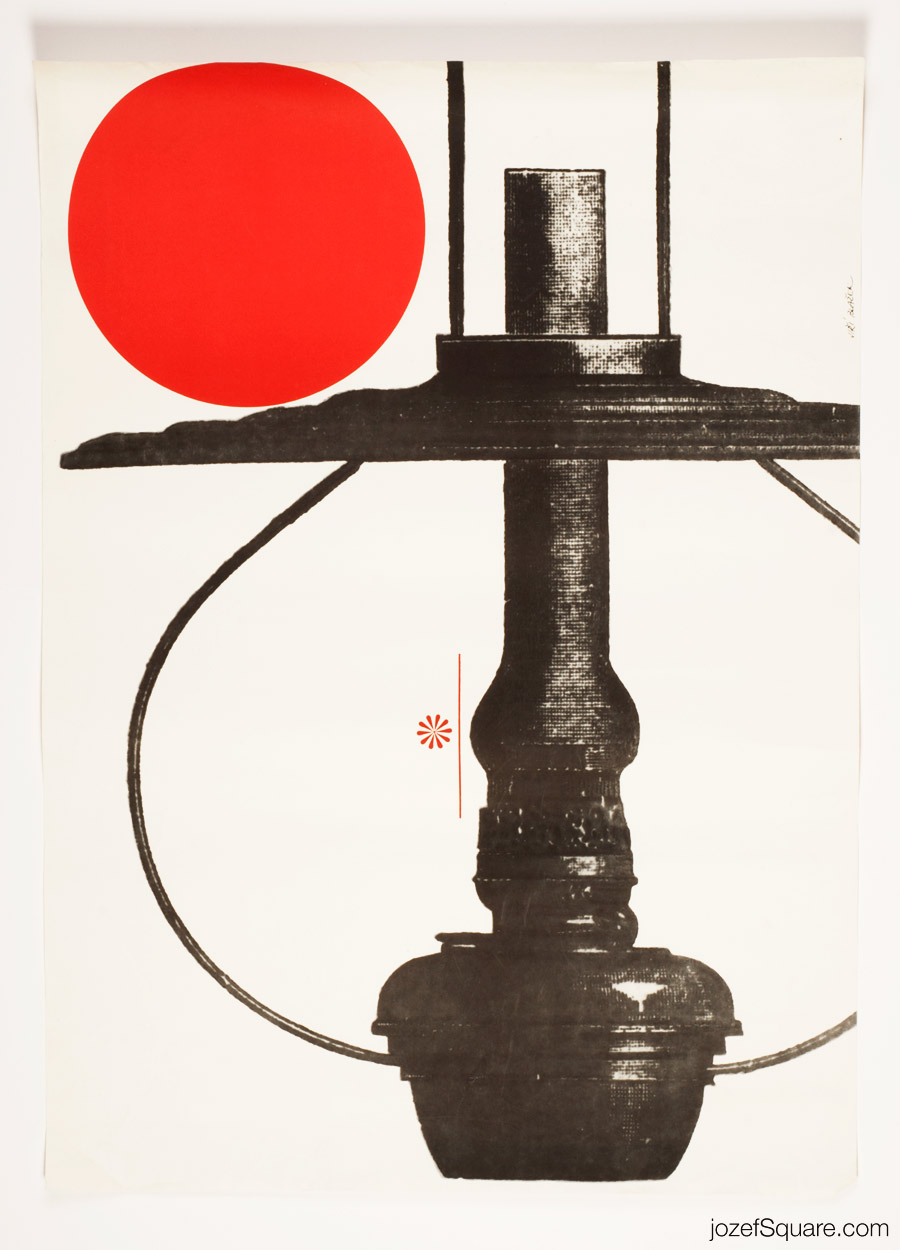 Exhibition Poster, Made in Czechoslovakia, Minimalist Poster Art