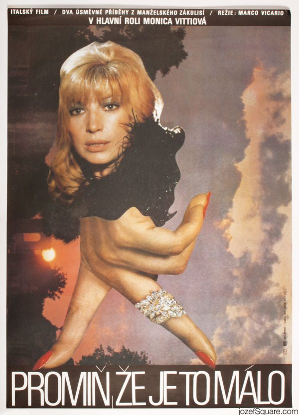 Excuse Me If Its Too Little Movie Poster, Monica Vitti