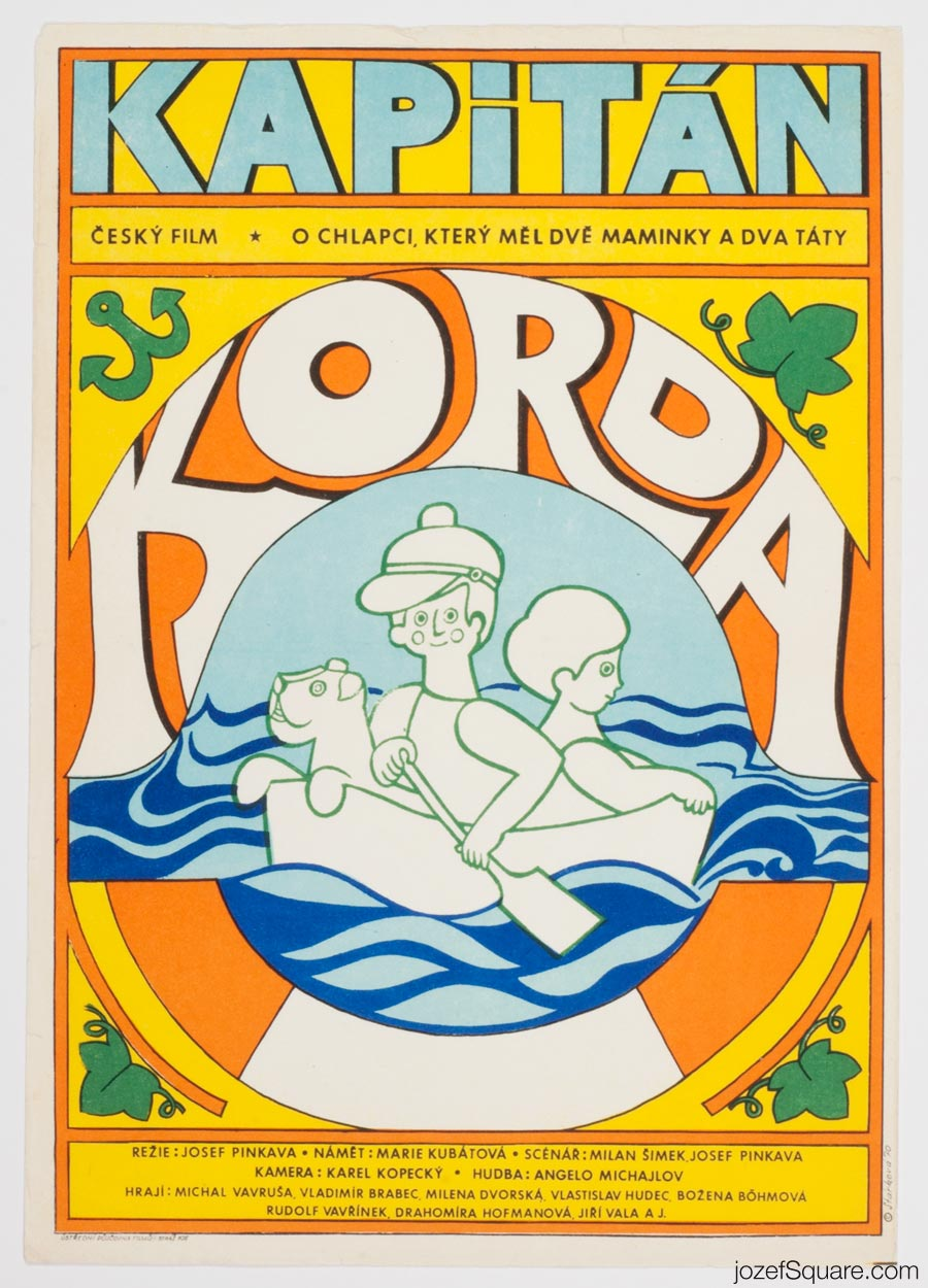 Captain Korda, Kids Movie Poster