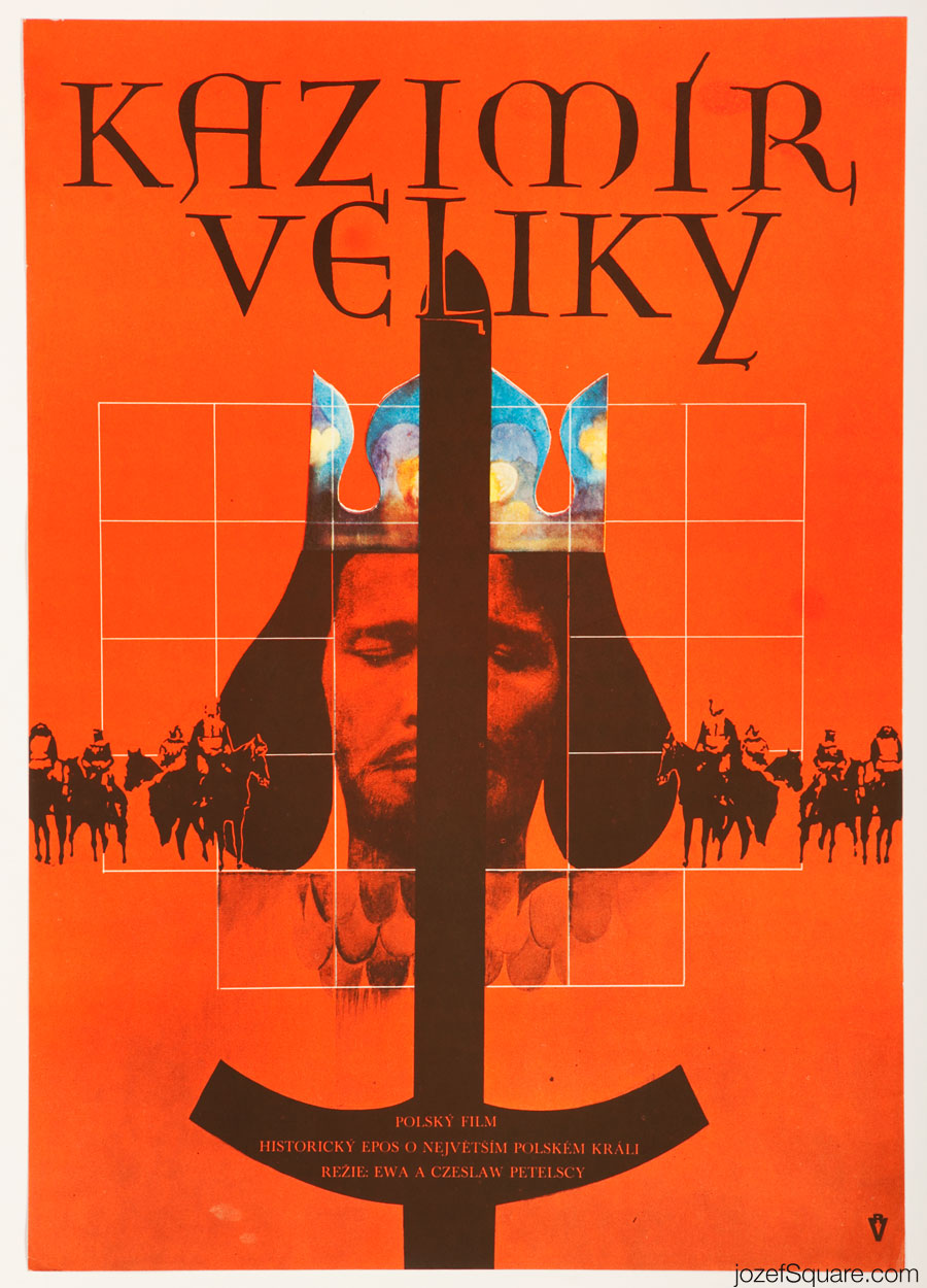Casimir the Great Movie Poster, 70s Poster Art