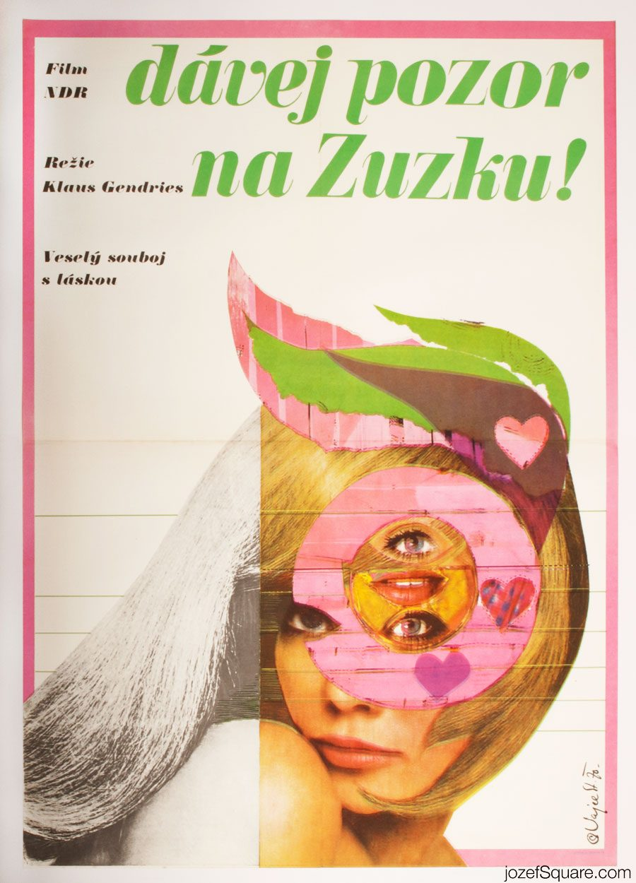Watch out for Susie Movie Poster, East German Cinema
