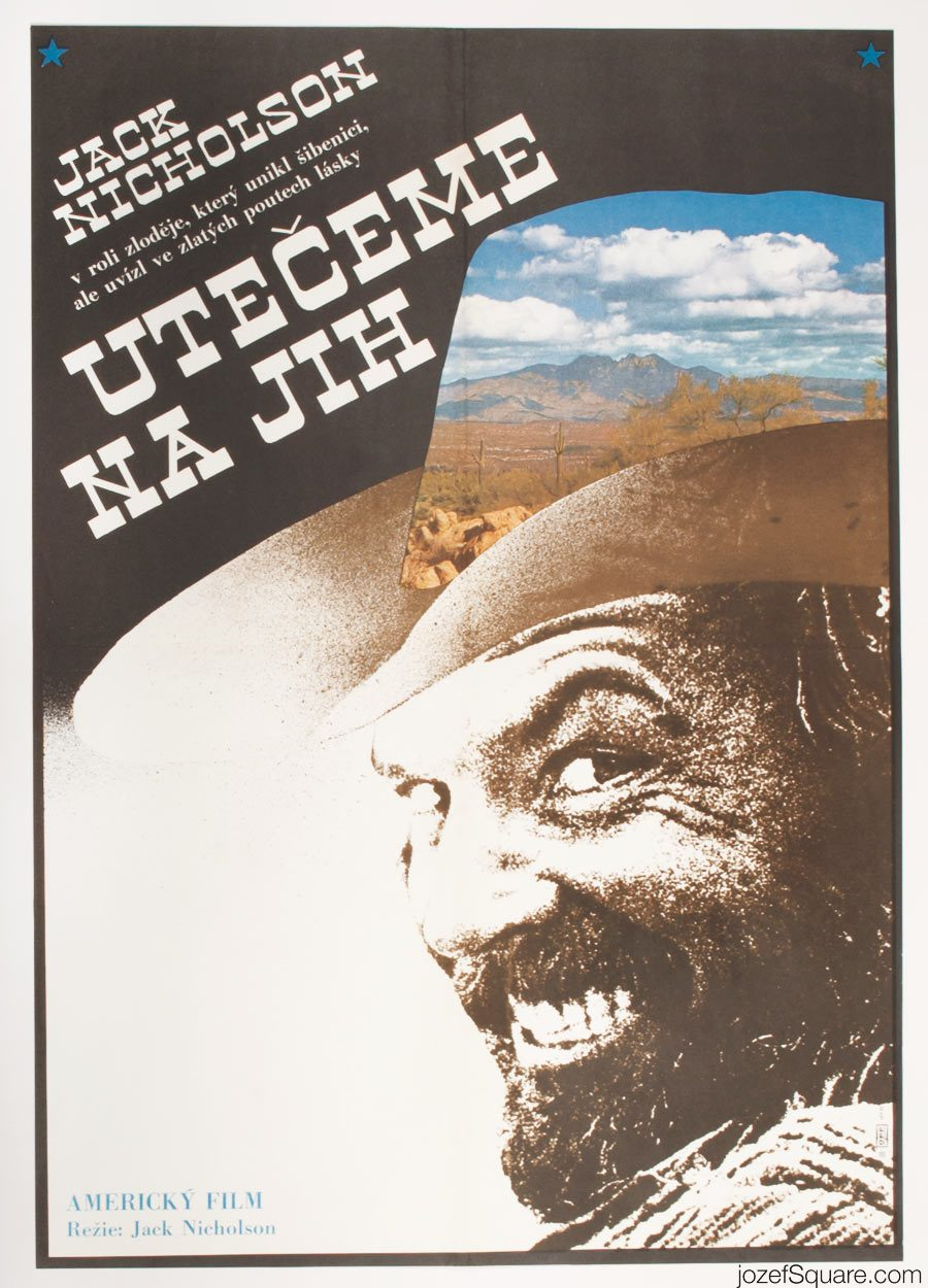 Goin' South Movie Poster, Jack Nicholson