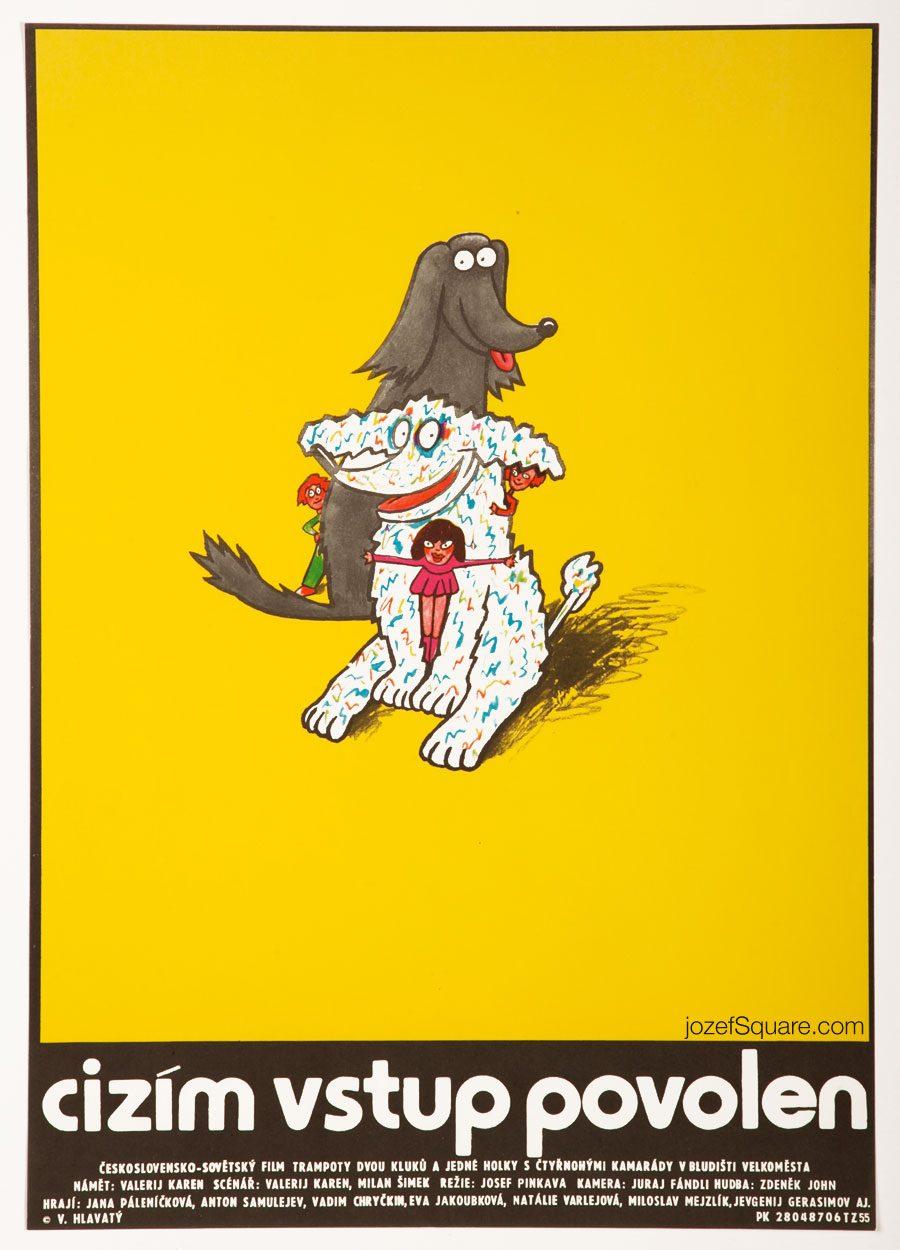 Free Admittance Movie Poster, 80s Kids Poster Art