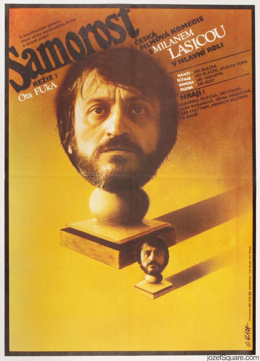 80s Movie Poster, An Offshoot, Zdenek Vlach