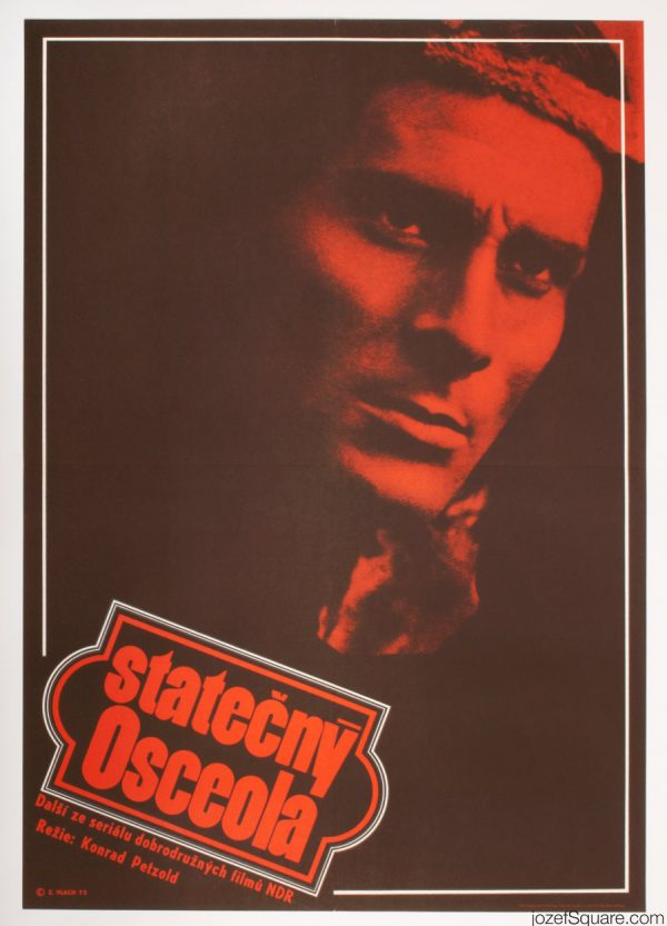 Osceola Movie Poster, Western Poster Art