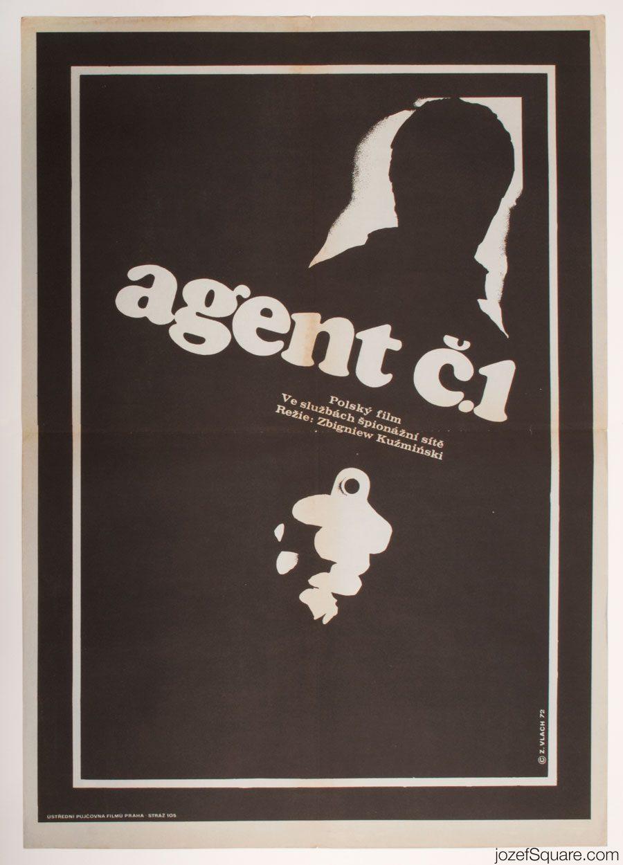 Top Agent Movie Poster, Minimalist Poster Art