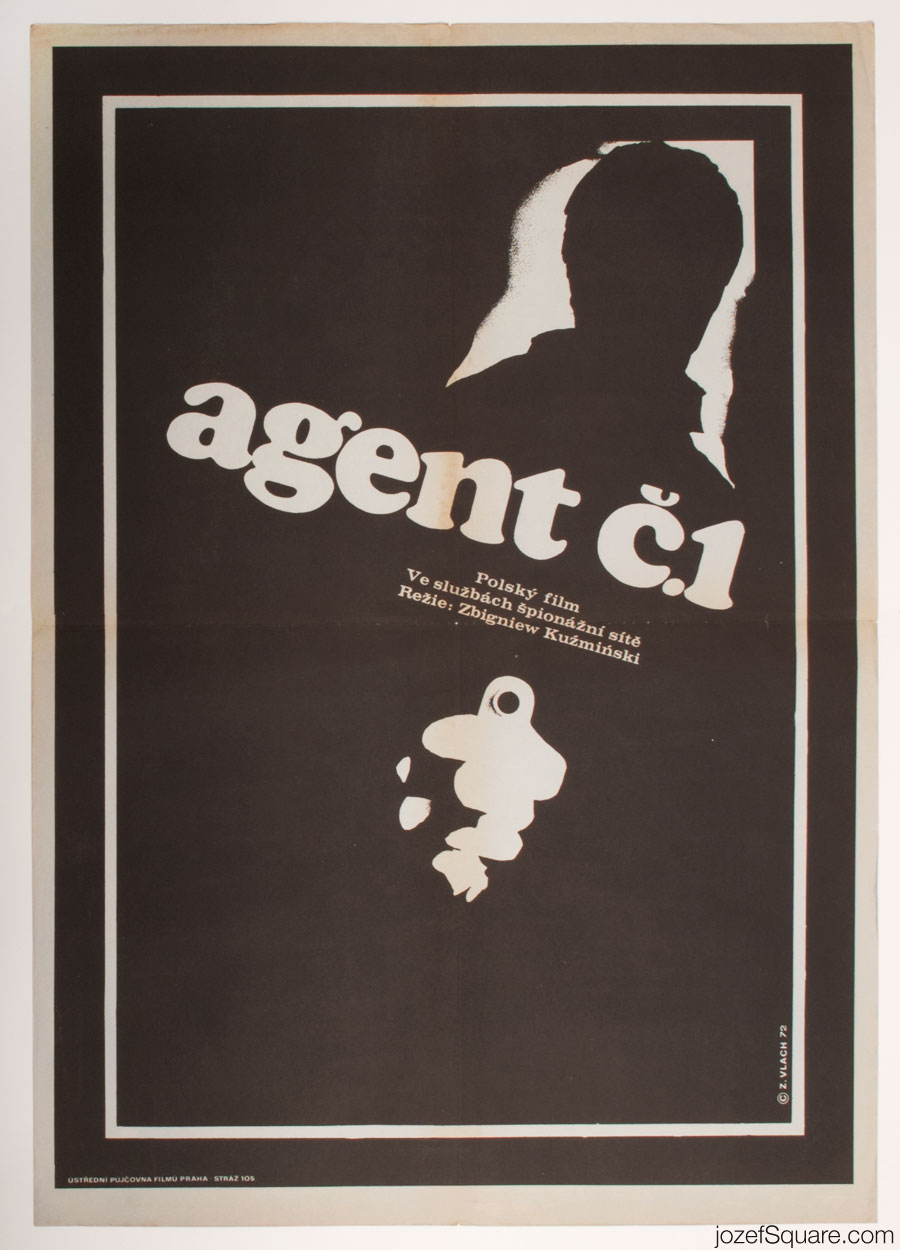Top Agent Movie Poster, Minimalist Poster Art
