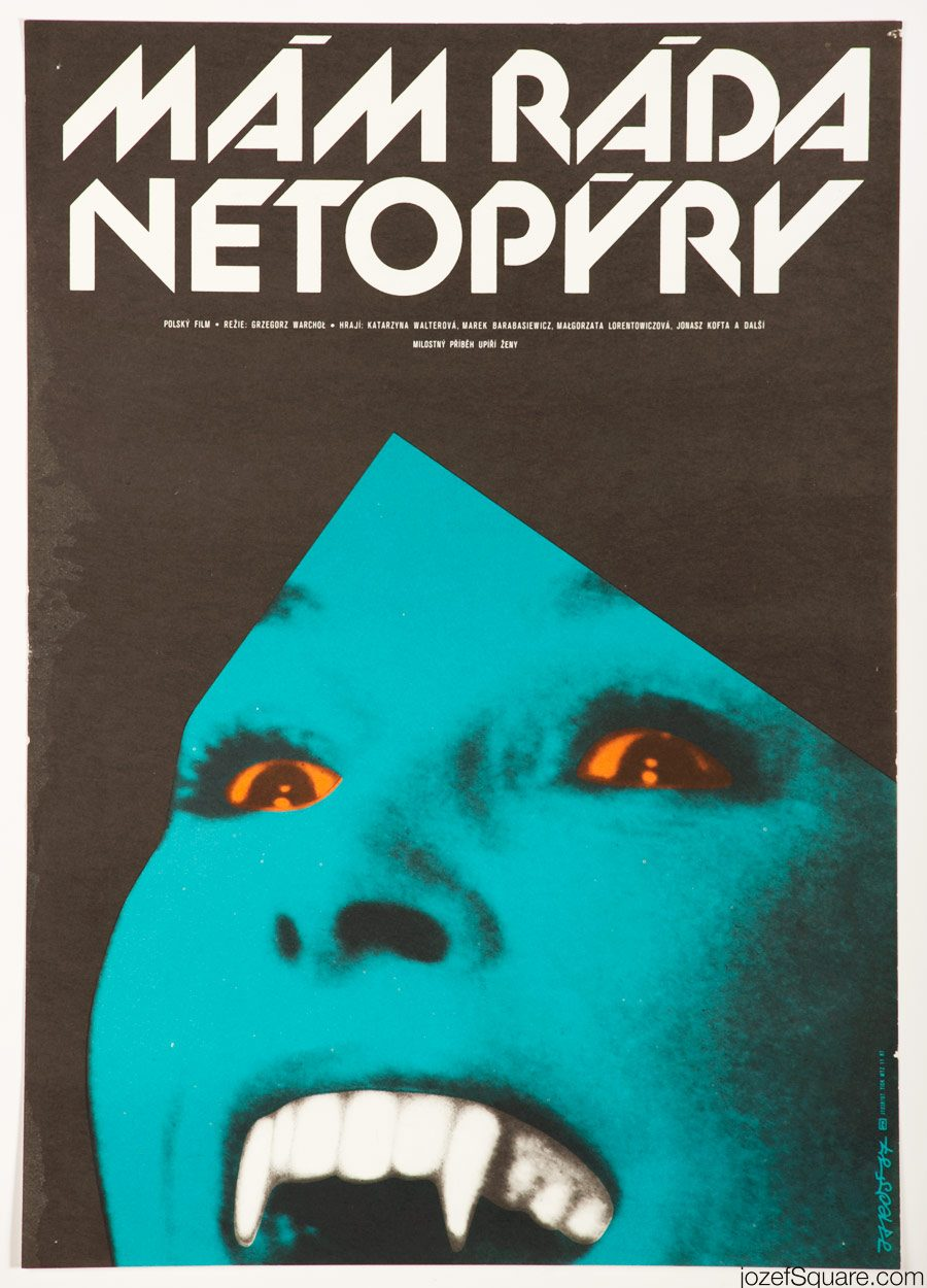 I Like Bats Movie Poster, Minimalist Poster Art