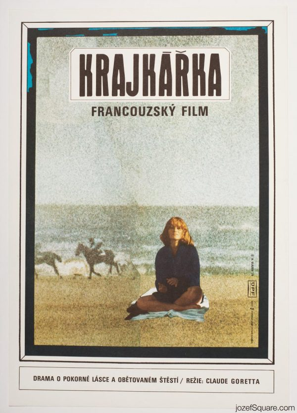 The Lacemaker Movie Poster, 70s Poster Art, French Cinema