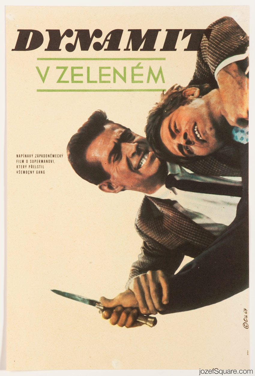 Death and Diamonds Movie Poster, 60s Poster Art