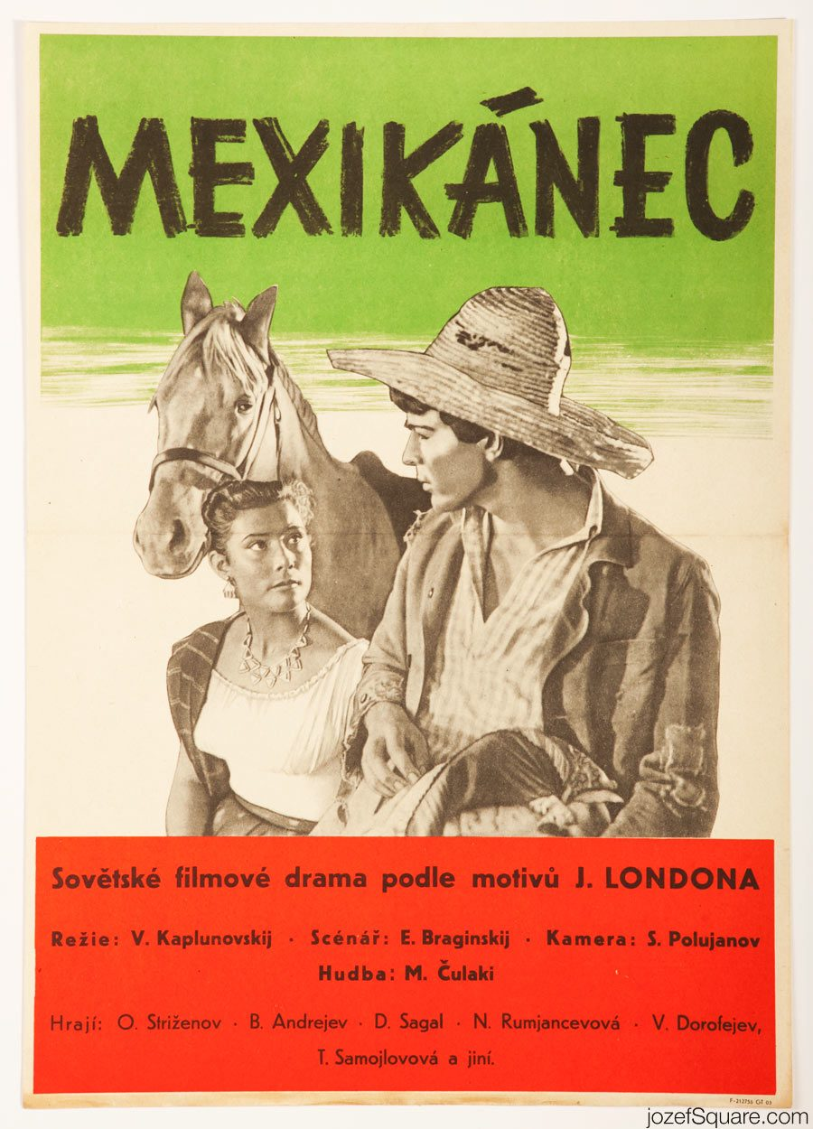 The Mexican Movie Poster, 50s Poster Art