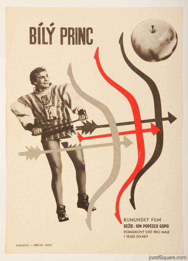 The White Moor Movie Poster, 60s Kids Poster Art