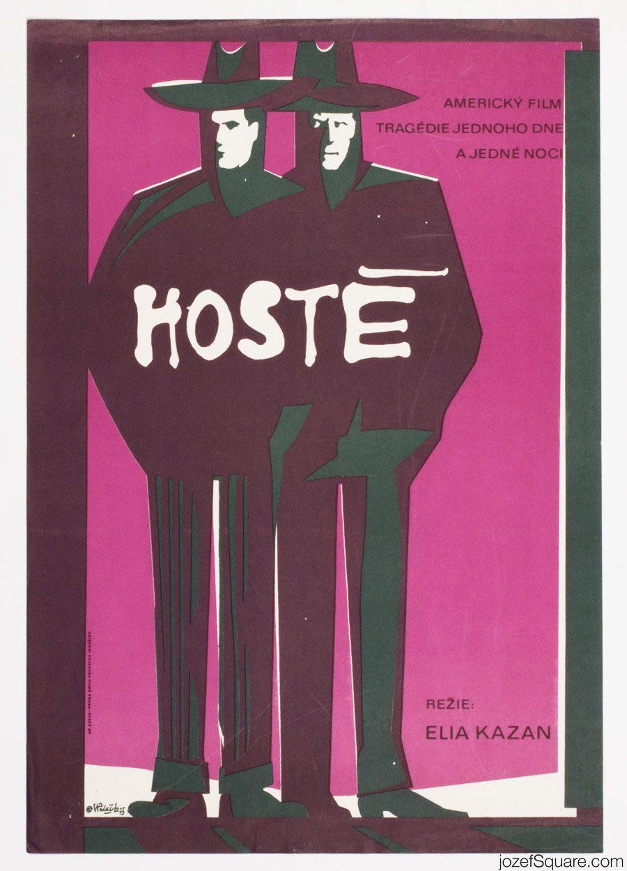 The Visitors Movie Poster, Elia Kazan, 70s Poster Design