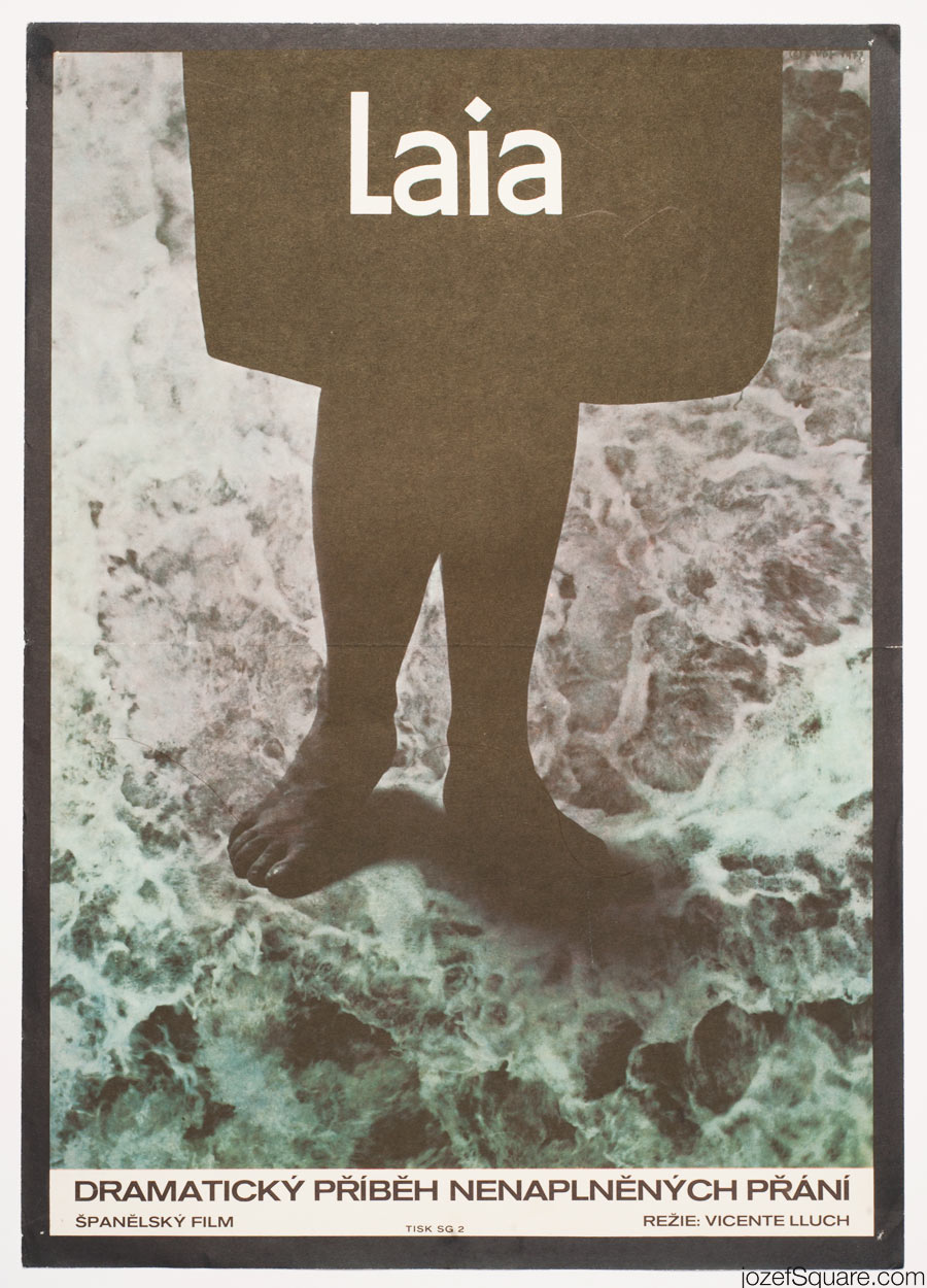 Laia Movie Poster, 70s Spanish Cinema