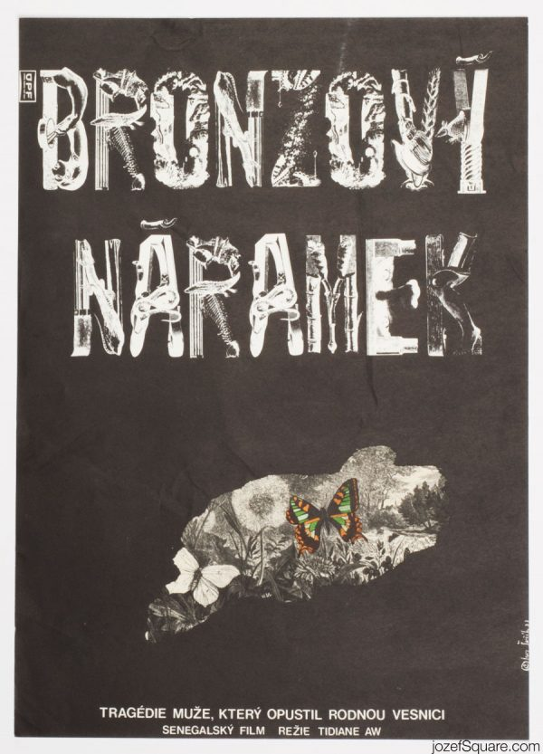 The Bronze Bracelet Movie Poster, 70s Poster Art