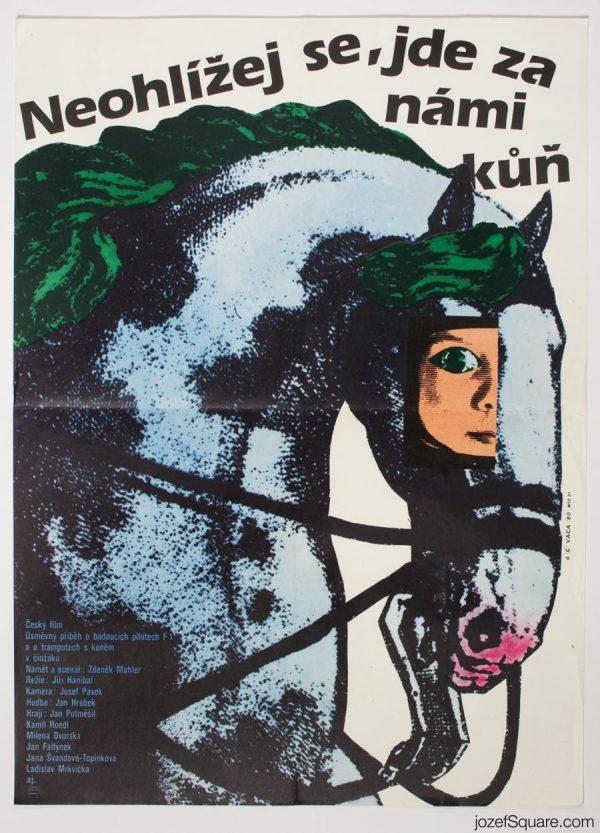 Don't Look Back, There's a Horse Movie Poster, Karel Vaca