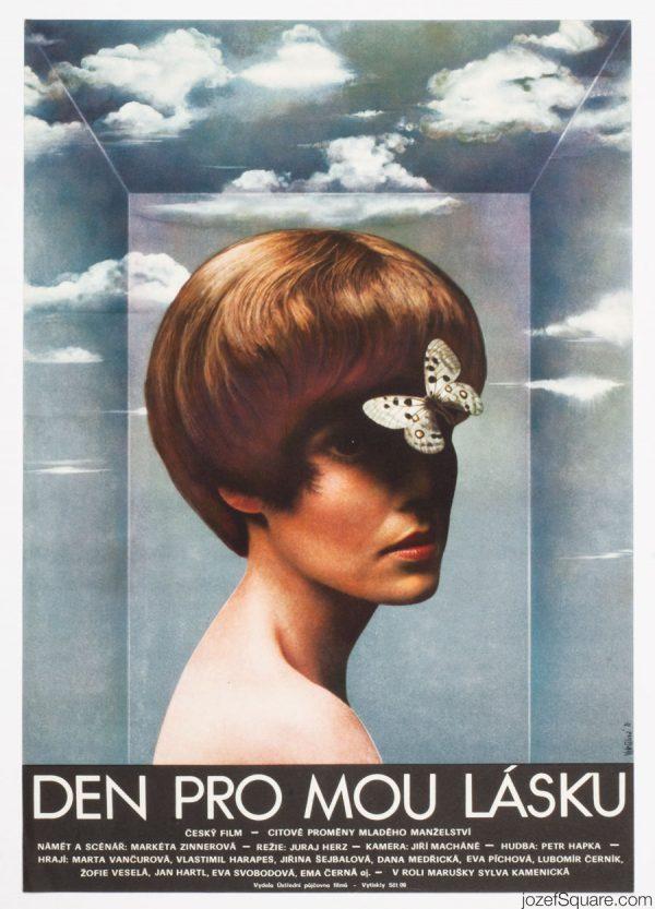 Day for my Love Movie Poster, Olga Polackova-Vyletalova