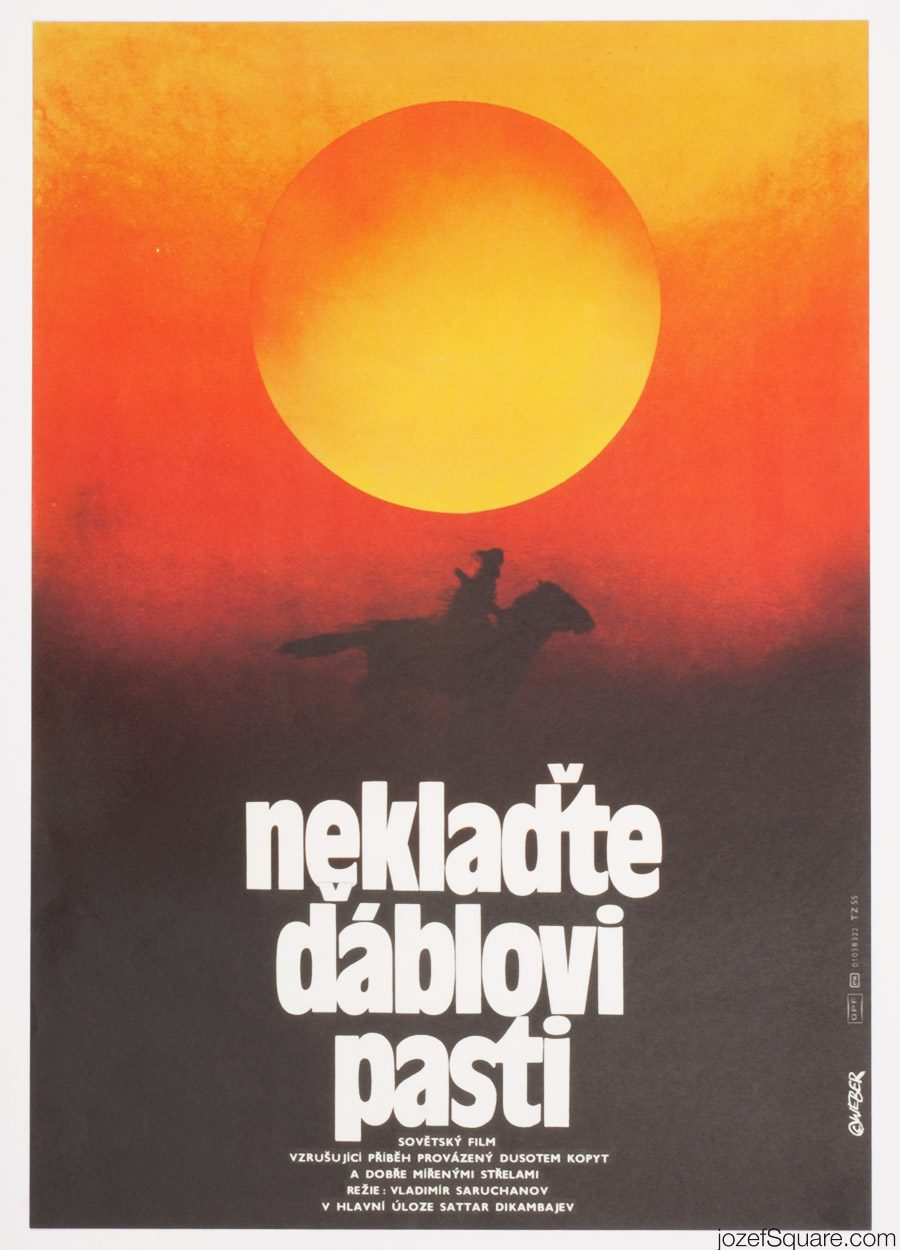 No Traps for Devil Movie Poster, Minimalist Poster