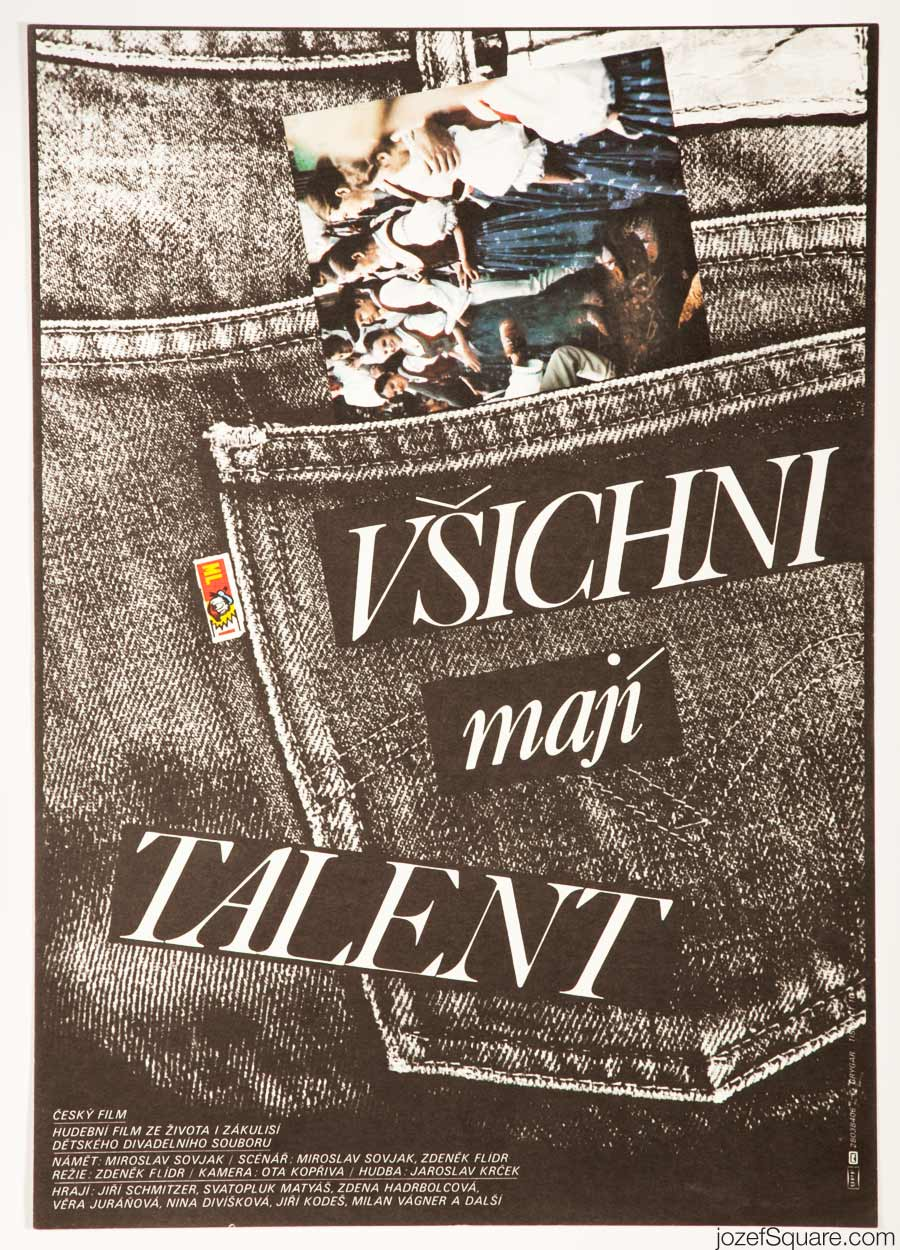 They All Have Talent Movie Poster, Milan Grygar