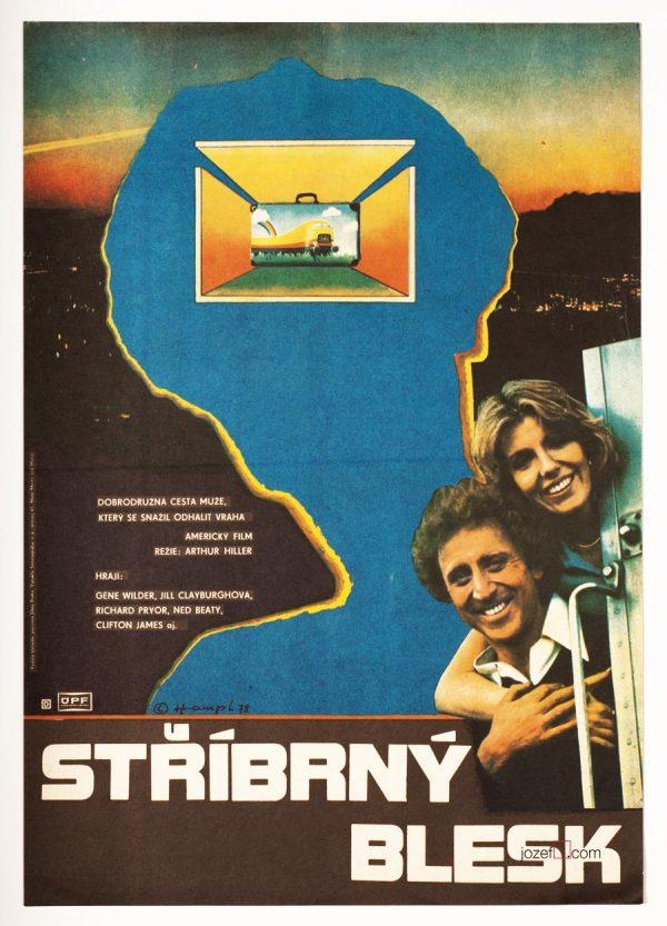 Movie Poster, Silver Streak, Arthur Hiller