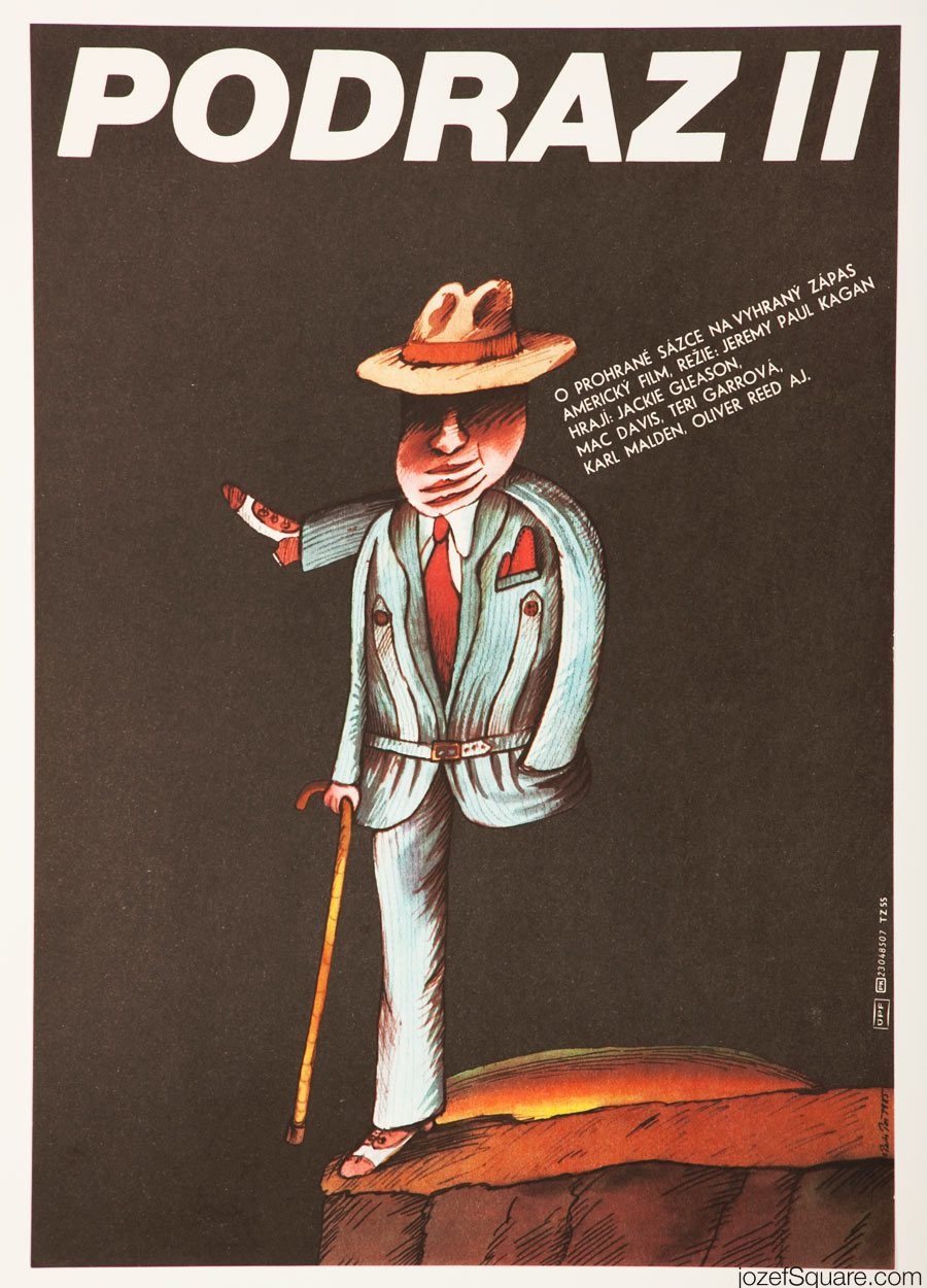 The Sting II Movie Poster, Illustrated Poster Artwork
