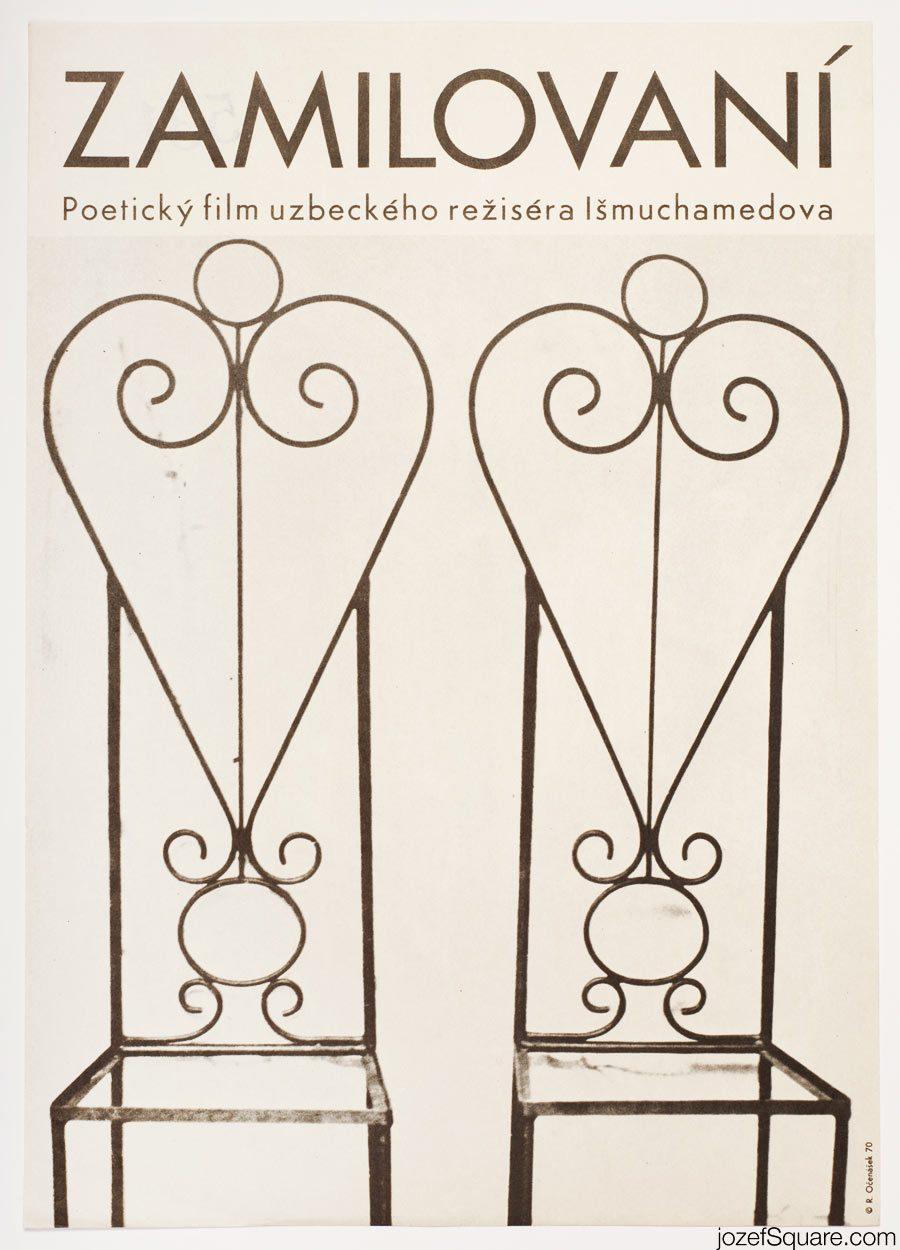 Tenderness Movie Poster, 70s Poster Art