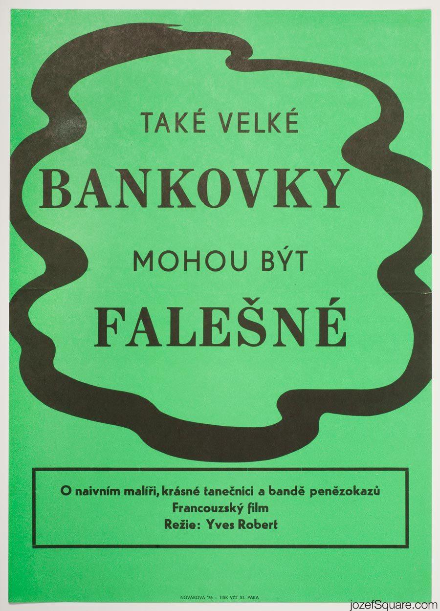 Minimalist Cinema Poster, Monkey Money Movie Poster