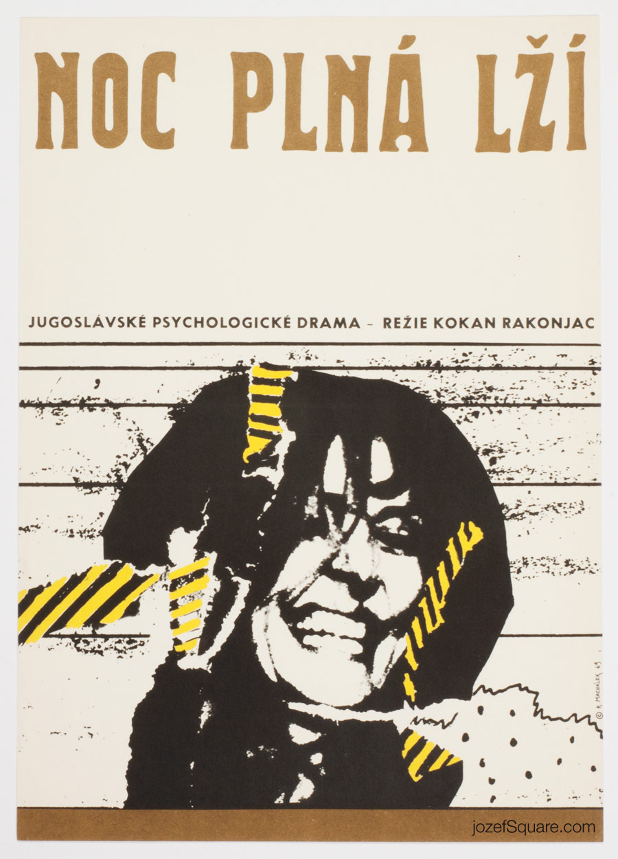 Before the Truth, Abstract Movie Poster, Karel Machalek