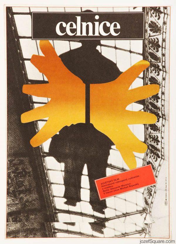 Abstract Movie Poster, Customs , Milan Grygar