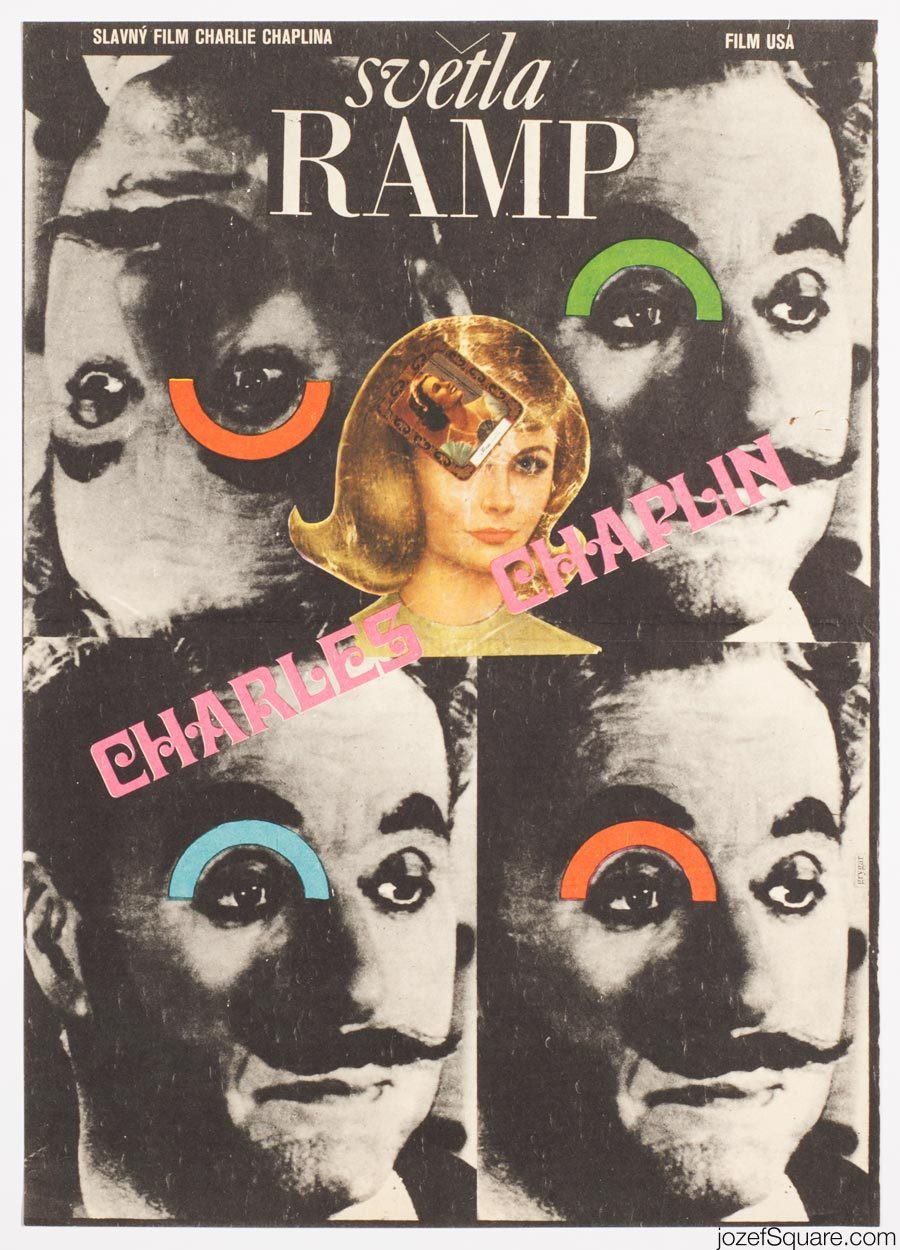 Charles Chaplin Cinema Poster, Limelight