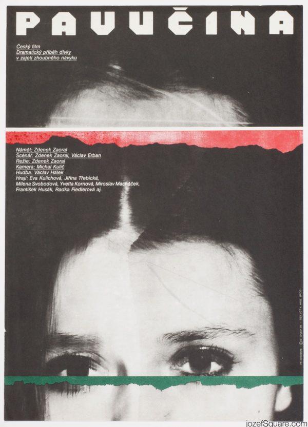 Spiderweb Movie Poster, Milan Grygar
