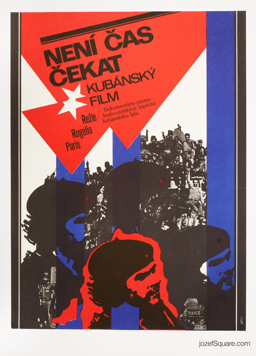 Che Guevara Movie Poster, 70s Cuban Cinema