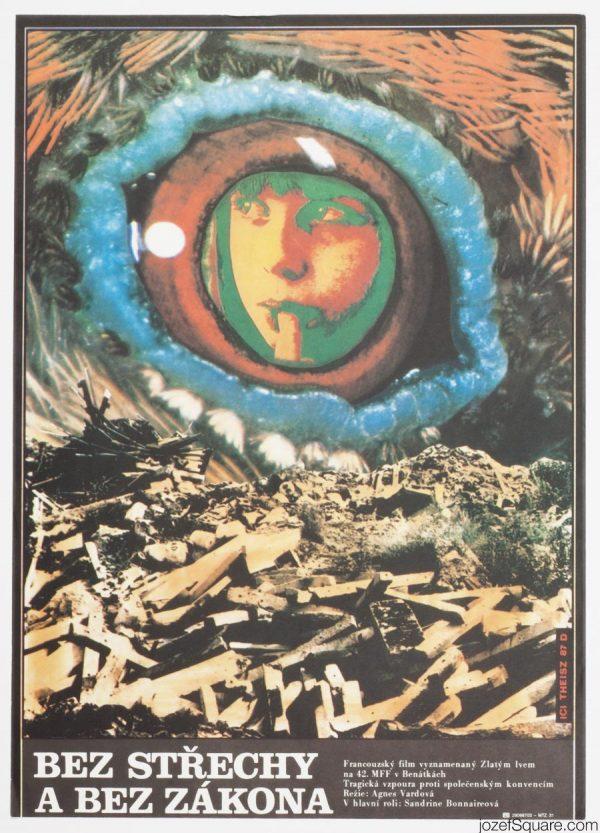Agnes Varda, Vagabond Movie Poster
