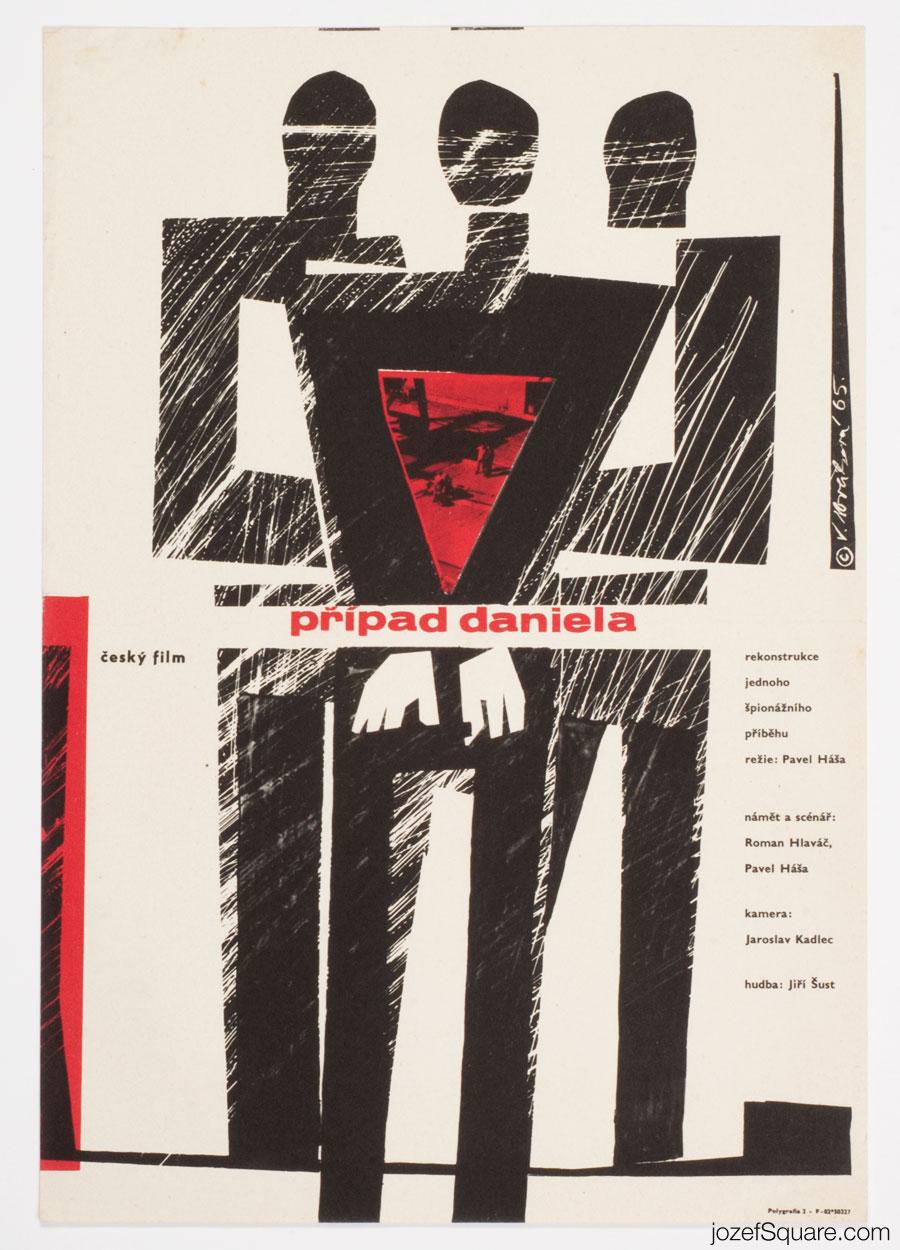 60s Cinema Poster, Daniel Case, Vera Novakova