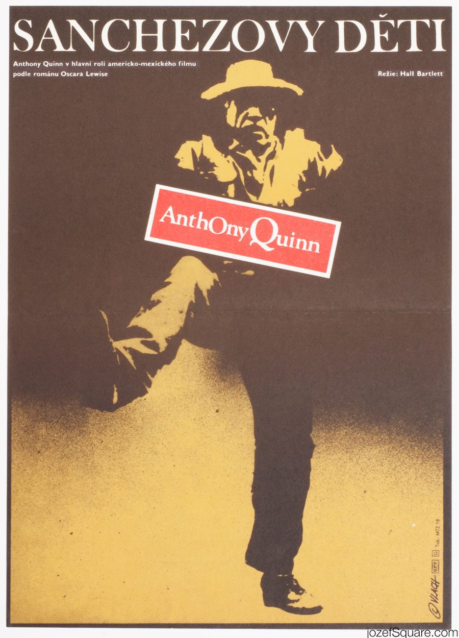 Movie Poster, The Children of Sanchez, Anthony Quinn