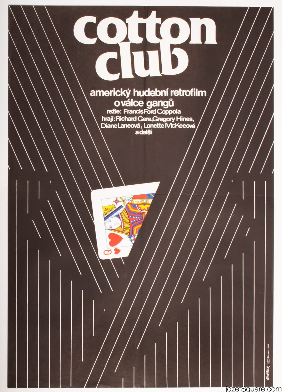 Movie Poster, The Cotton Club, Francis Ford Coppola